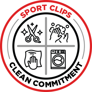 Sport Clips Clean Commitment Logo