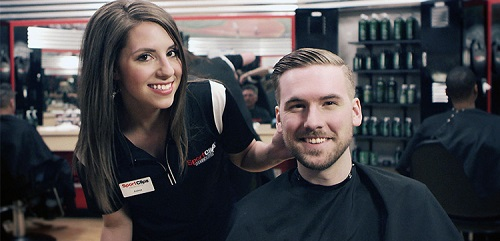 Sport Clips Haircuts of Fort Mill​ stylist hair cut